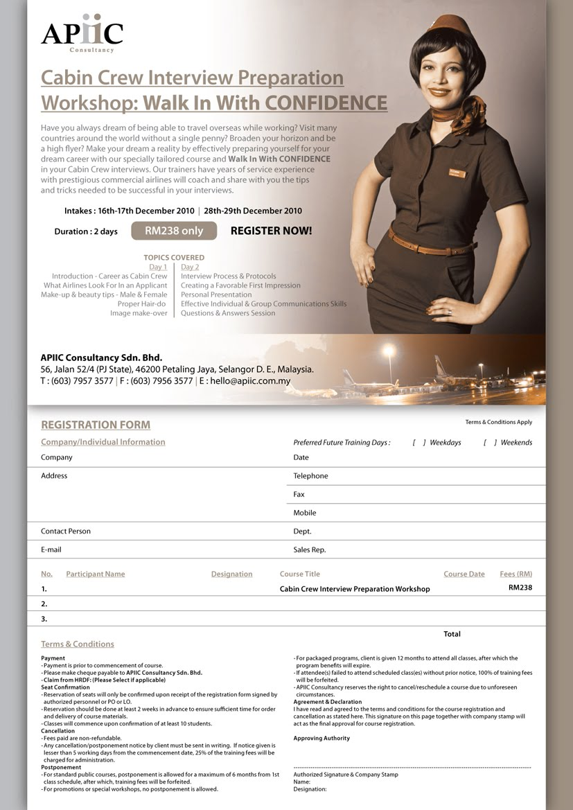 cabin crew interview for pinterest