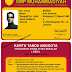 Desain Kartu Pelajar, Id card, member card