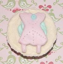 Cupcakes chá de lingerie