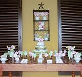 Decoração de mesa de doces...
