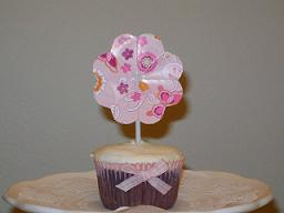 Cupcake Florzinha...