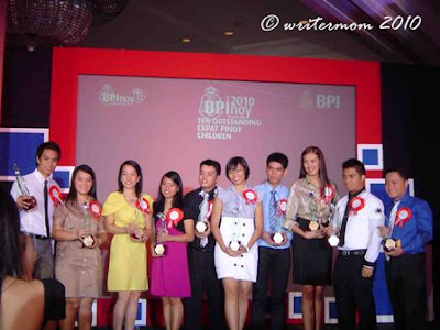 Inspiring News About OFWs' Families Through BPI's Ten Outstanding Expat Pinoy Children Awards