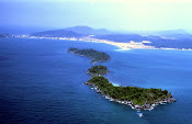 Phu quoc Island from Helicopter