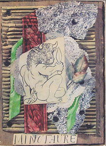 Picasso's Minotaure Collage - original