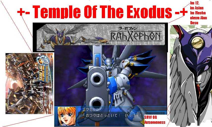 + - Temple Of The Exodus - +