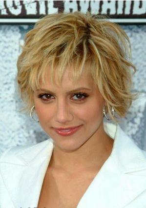 Haircuts for square face shapes messy short hairstyles.