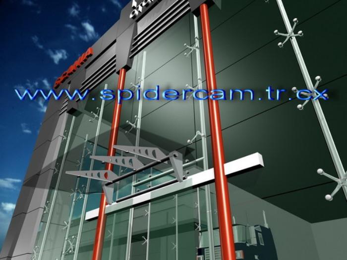 Transparan Spider Cam Sistemleri