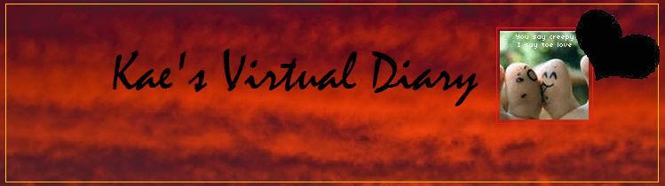 Kae's Virtual Diary