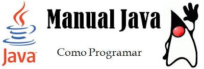 Manual de como se programar em Java.
