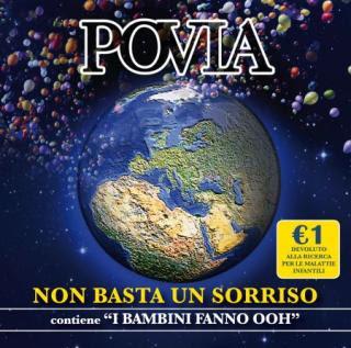 Cover Non Basta Un Sorriso, Album di Povia