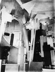 Kurt Schwitters - Merzbau  Hannover,1933