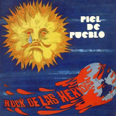 Piel de Pueblo - Rock de las Heridas 1972 (Argentina, Hard Blues Rock)
