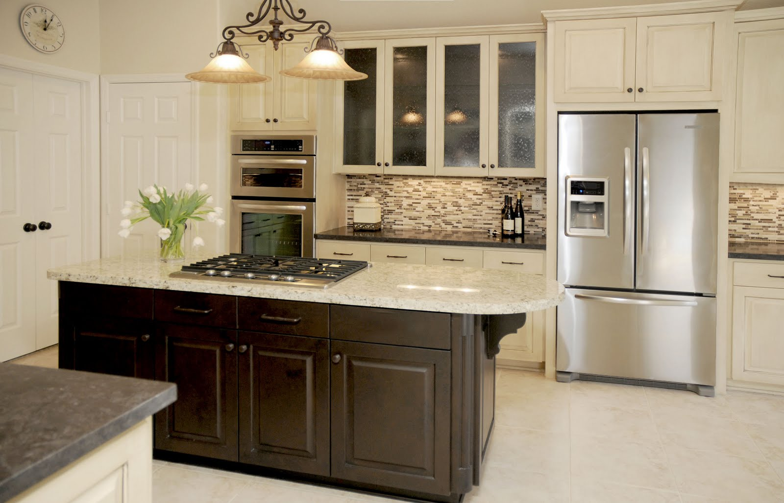 Design in the woods kitchen remodel before and after for Kitchen cabinet remodel