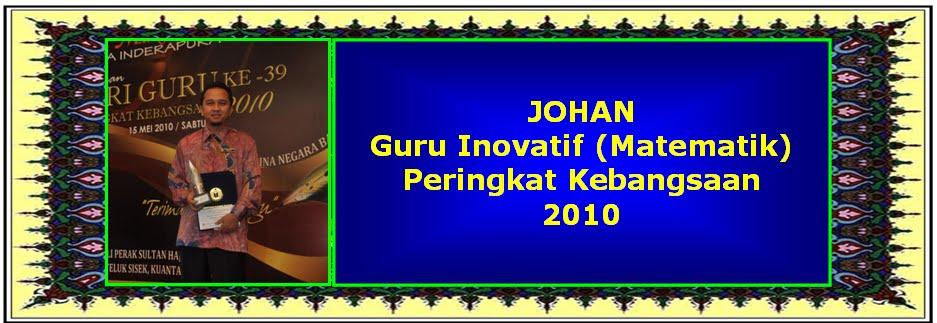 Johan Guru Inovatif Kebangsaan 2010