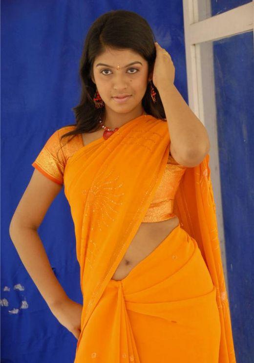 Actress Prstishta Navel Show Photos