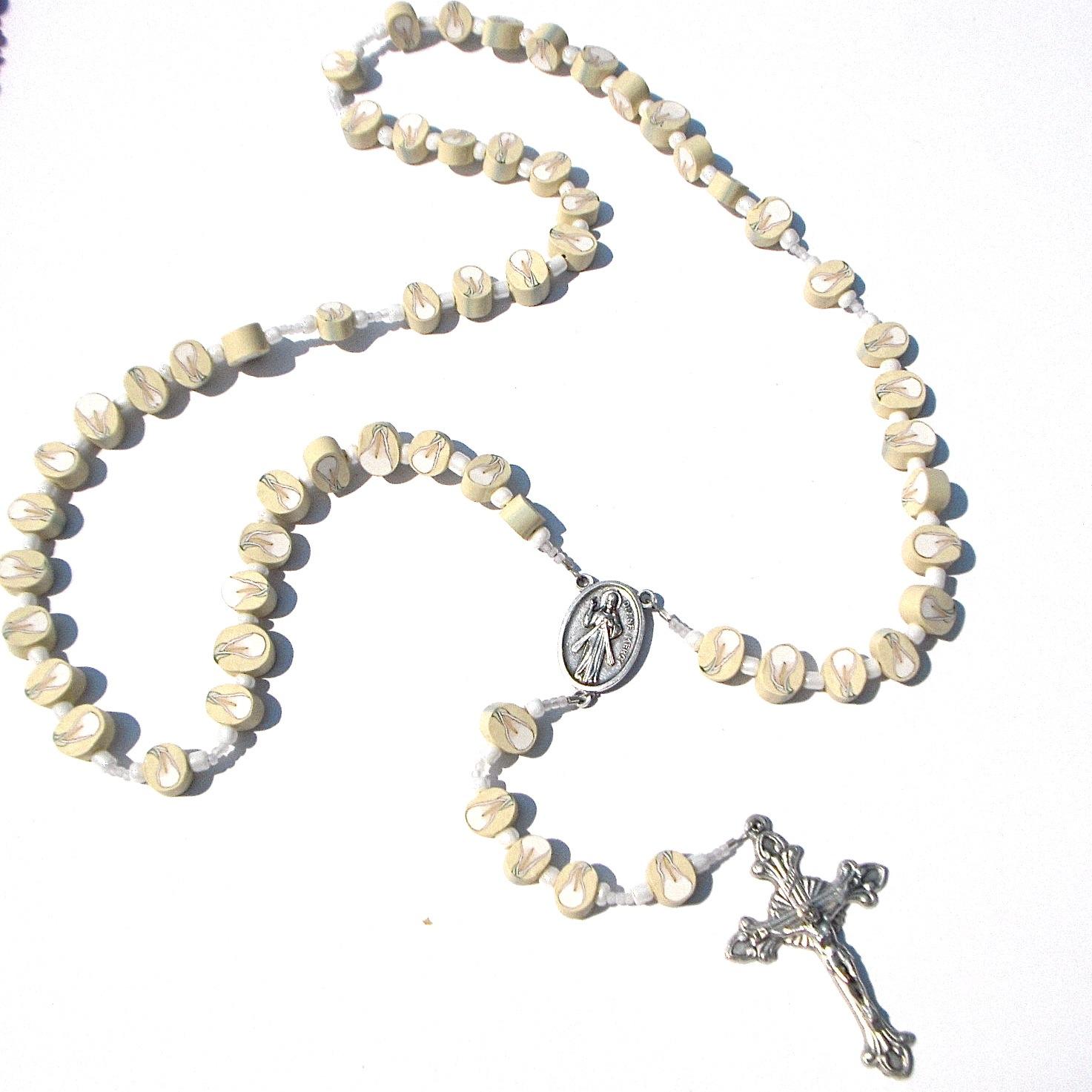 Rosary Bead Border