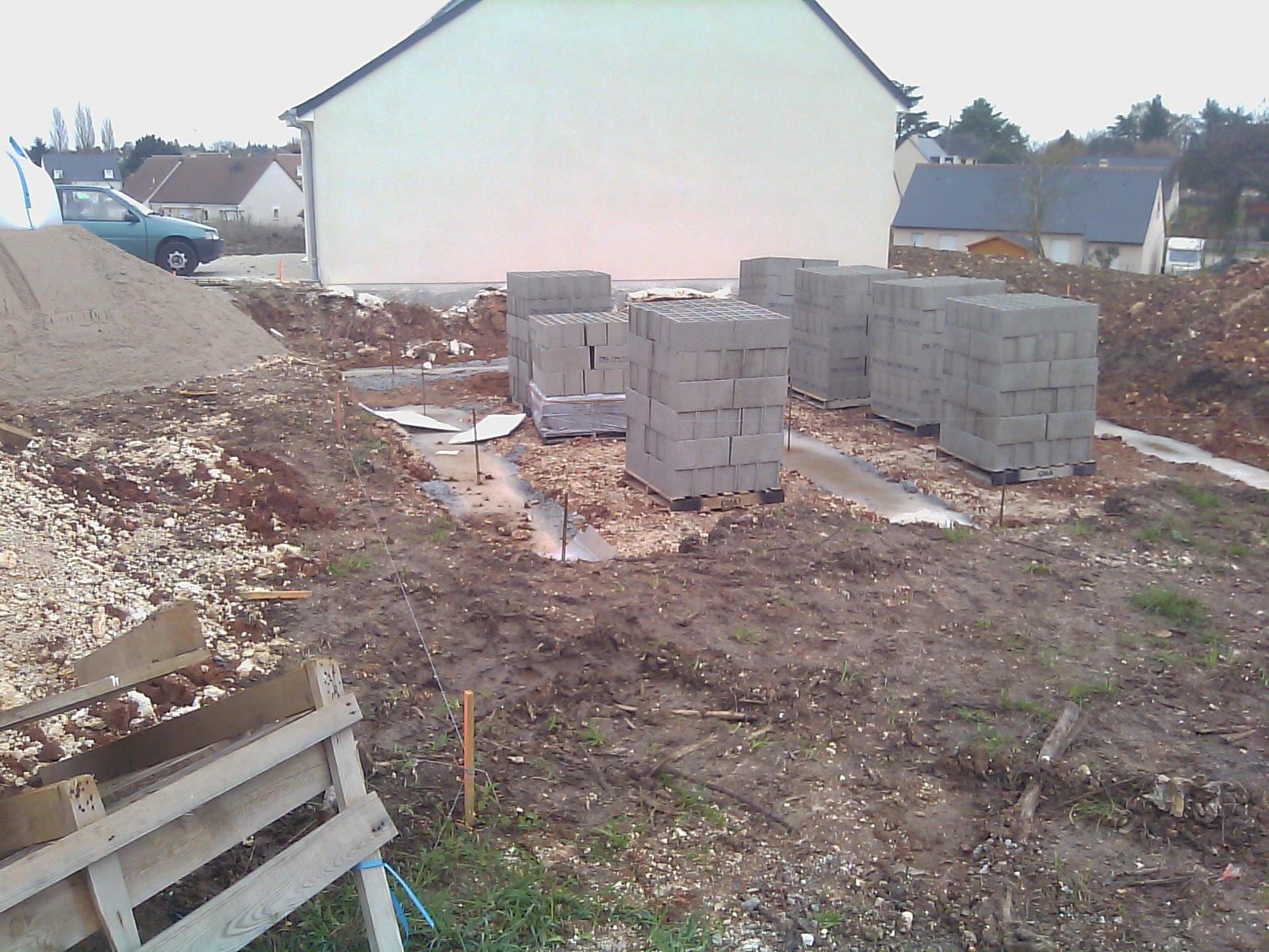 Construction de notre maison livraison des materiaux - Livraison materiaux de construction ...