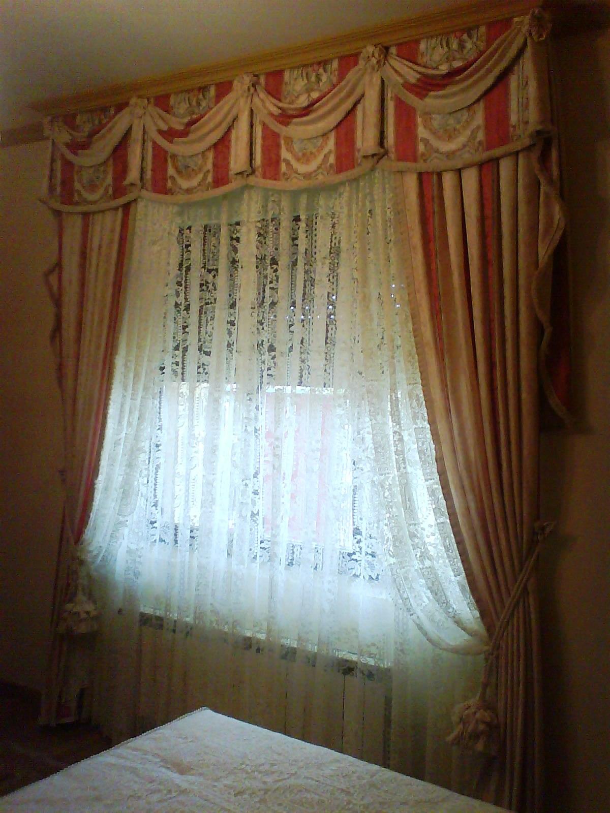 Quintero decoraci n textil otra forma de fruncido de - Formas de cortinas ...