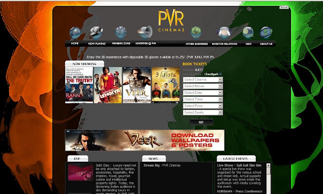 PVR Chandigarh - PVR Cinemas at Centra mall Chandigarh