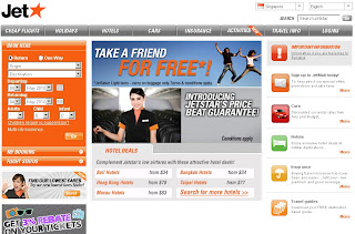 Jetstar offers Take a Friend For Free Sale