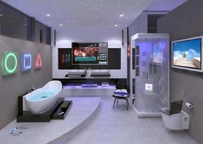 Salle de bain du futur futur concept salle de bain high tech