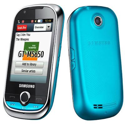 Samsung M5650 Lindy Samsung M5650: Lindy meilleur que Corby