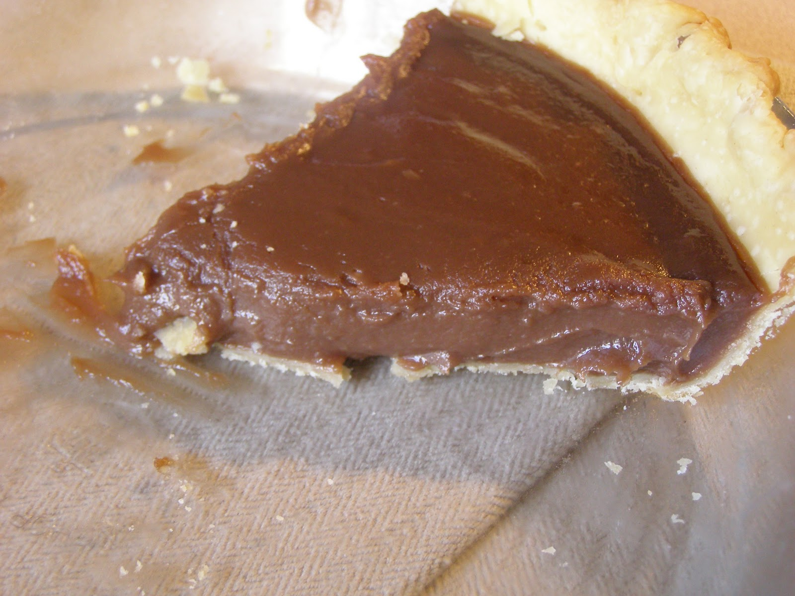 The Rickett Chronicles: Recipe: Grandma Lewis' Chocolate Pie
