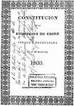 La Constitución de 1833