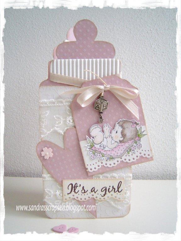 Открытки с рождением ребенка своими руками