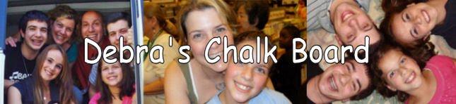 Debra's Chalk Board
