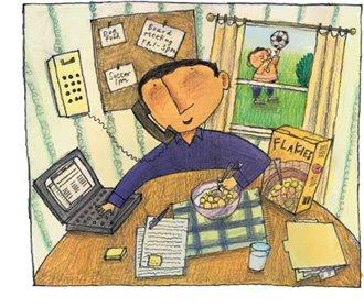 Kerja dari Rumah Bikin Orang Lebih Cepat Lelah