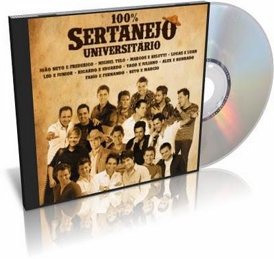 Download CD 100% Sertanejo Universitário