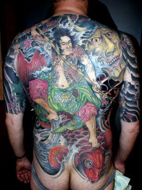 Tatuajes Cuerpo Entero los tatuajes: el tatuaje en oriente