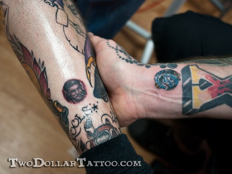Two Dollar Tattoos By Cory Ferguson and Kevin Urie