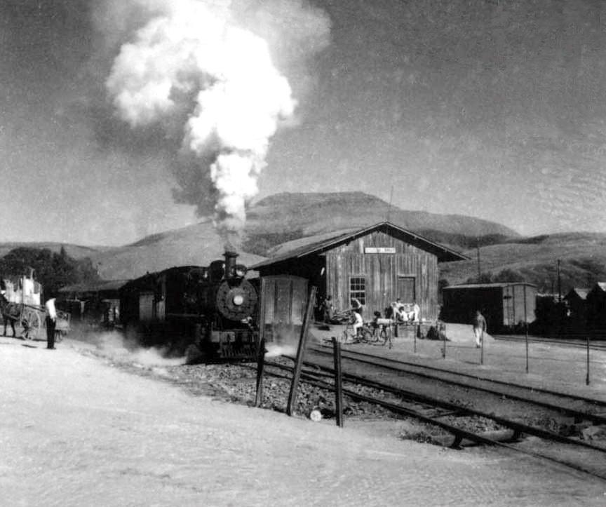 Estação inaugurada em 02 de janeiro de 1897 pela Estrada de Ferro do