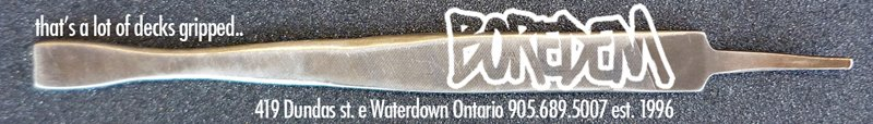 Boredem!! 905.689.5007 419 dundas st. east Waterdown Ontario Canada