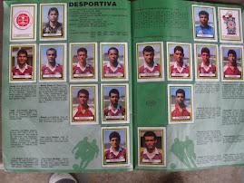 ÁBUM DE FIGURINHAS DO CAMPEONATO BRASILEIRO DA 1ª DIVISÃO EM 1993!