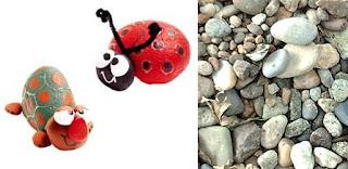 Divertidas piedras pintadas para los más pequeños