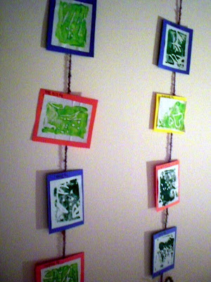 Creative ways to display artwork in the classroom the for Creative ways to display artwork