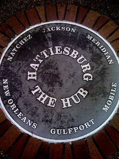 Historic Downtown Hattiesburg Mississippi