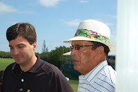 Jaime A. Lopez Diaz, Minister of Tourism for Puerto Rico with Chi Chi Rodriguez