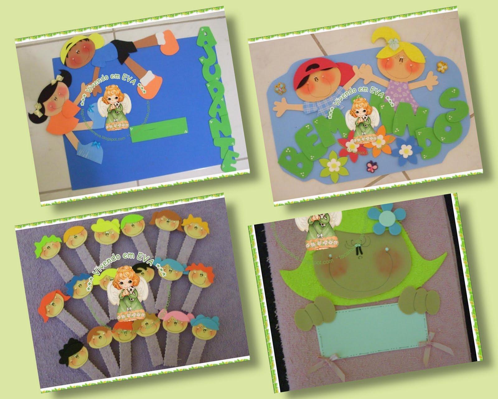 decoracao de sala aula em eva : decoracao de sala aula em eva:Vivendo em EVA: KIt decoraçao de sala de aula