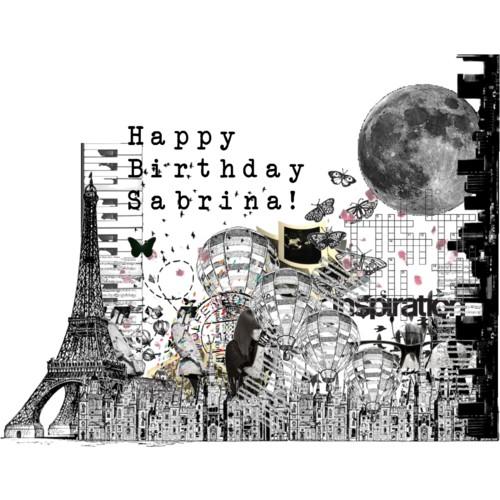 Happy Birthday To Walkonby Jan 30: Happy Birthday Sabrina