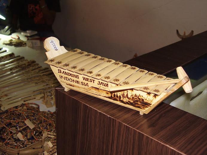 karya saya (miniatur gambang bambu)