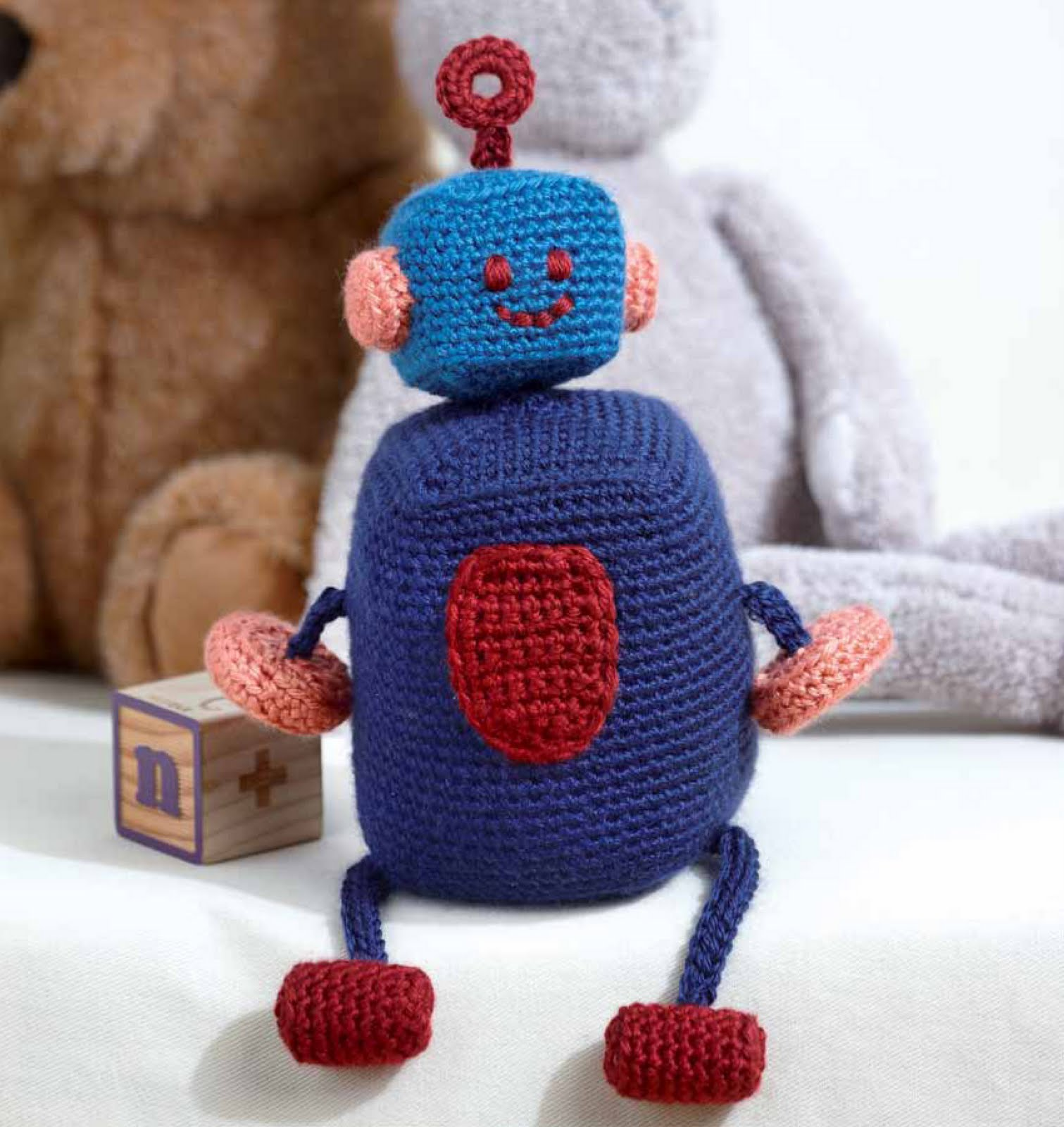 Crochet by faye countdown to baby blueprint robot burt countdown to baby blueprint robot burt malvernweather Images