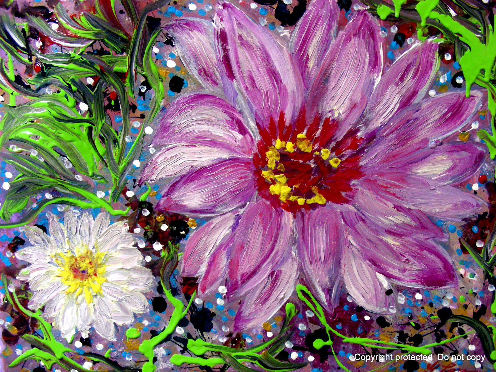 artscanyon gallery  floral painting