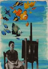Pesciolini curiosi! Omaggio a Frida Kahlo