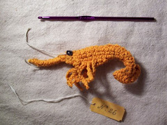 Crochet a shrimp!