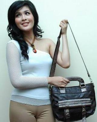 Celebrity Oops!!: Sandra Dewi Fat Cameltoe