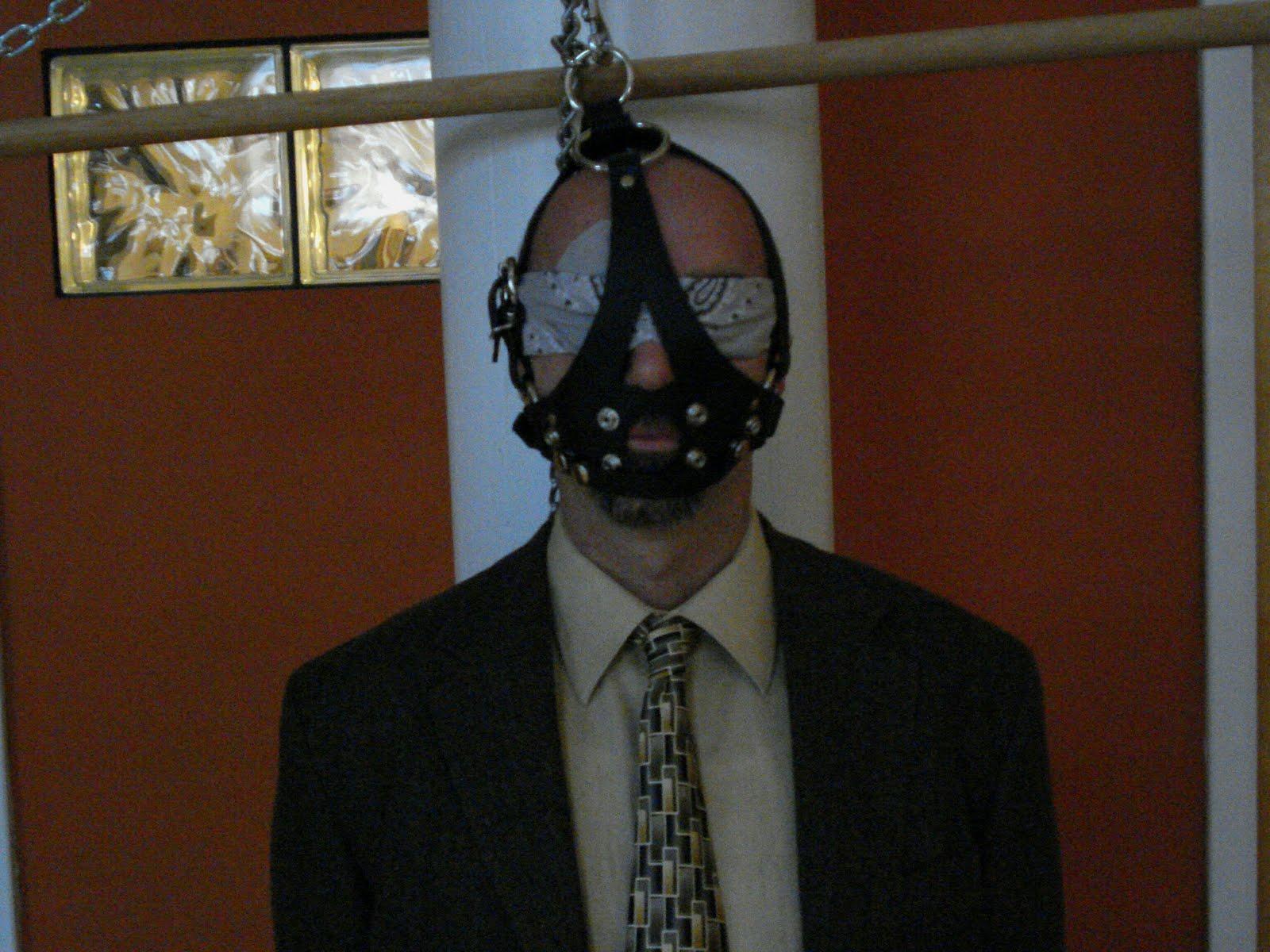 Suit and tie bondage